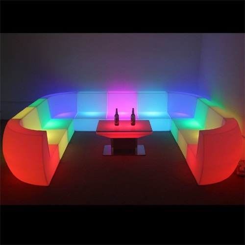 LED Light Sofa